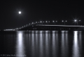 Eau Gallie Causeway at night